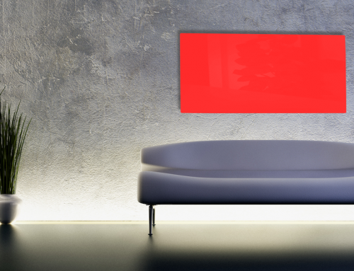 New Red Satin Aluminium Panels Available Now